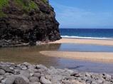coastline hanakapiai