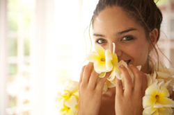 smelling_lei